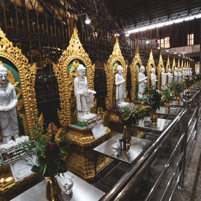 Chaukhtatgyi Buddha Temple, Yangon, Myanmar photography by Kitamu