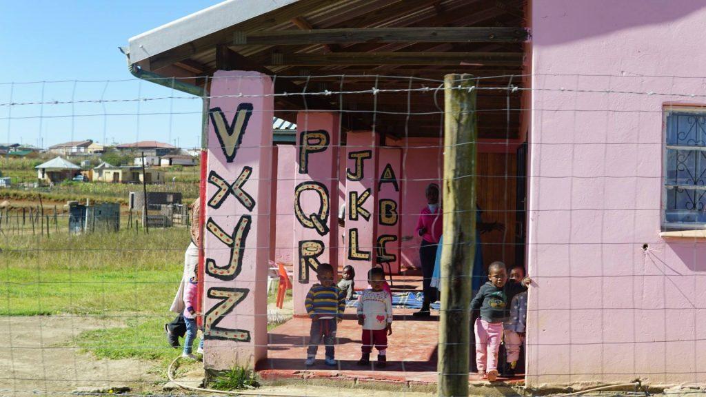 南アフリカの田舎の学校