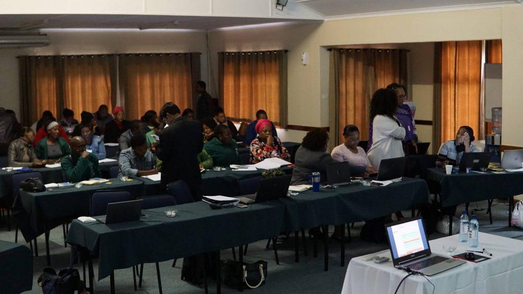 南アフリカ青年海外協力隊活動の様子