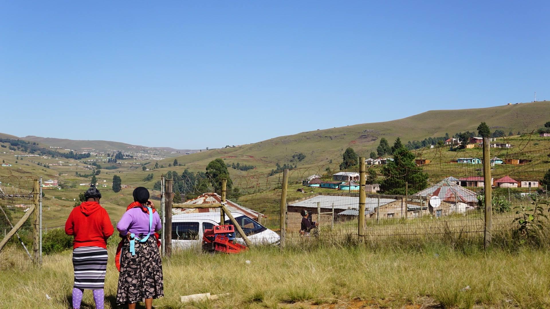 南アフリカのド田舎の風景