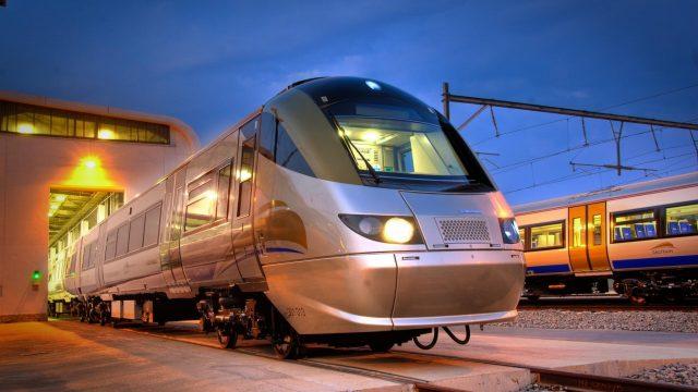 南アフリカの電車ハウトレイン