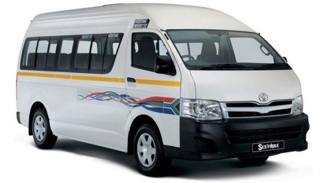 南アフリカ共和国のコンビタクシー