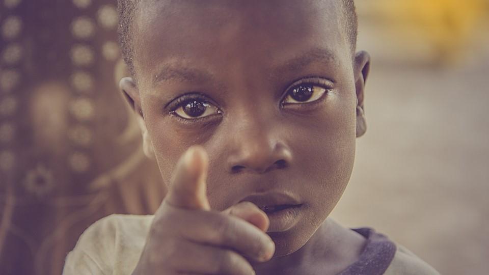 アフリカの子供