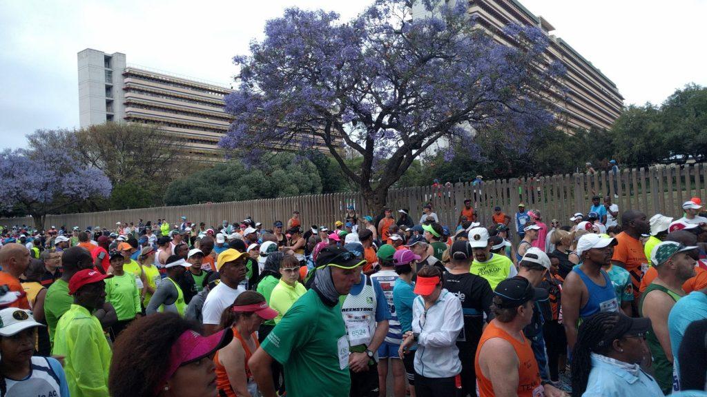 南アフリカではマラソン大会が盛んに開催
