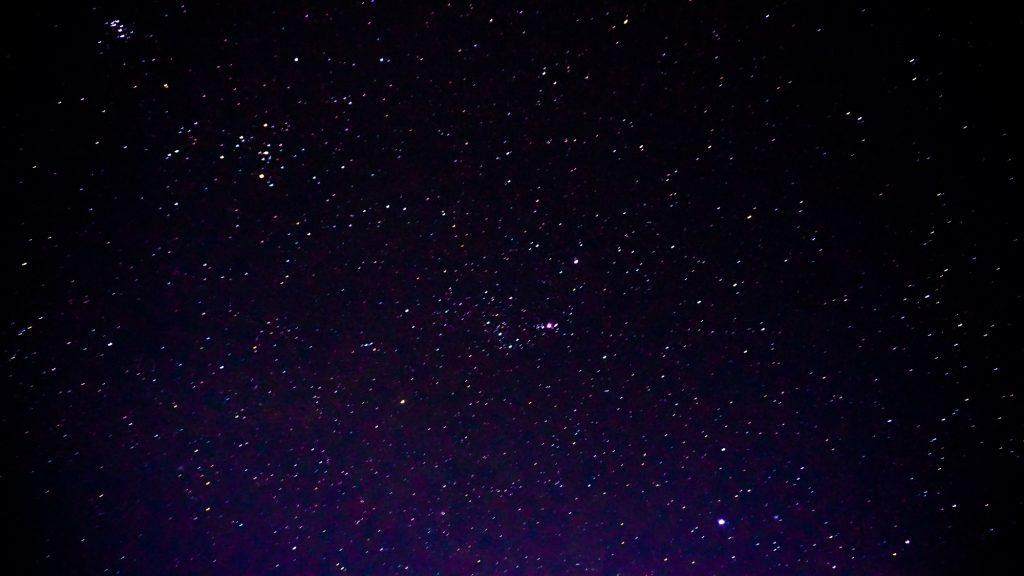 キリマンジャロ登山中は夜空が綺麗だった