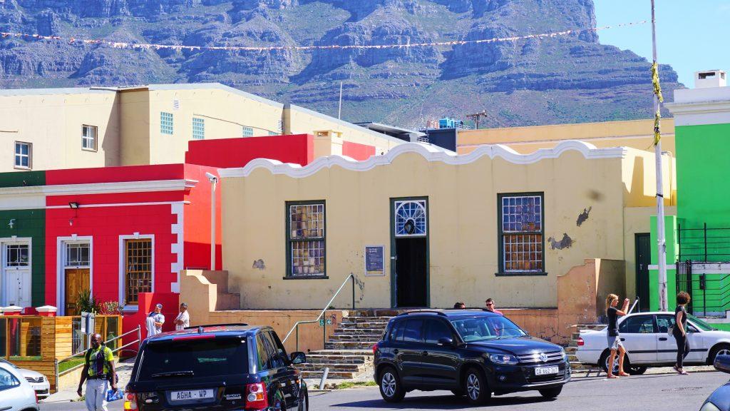 南アフリカ共和国ケープタウンのボカープ地区