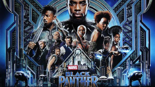 映画ブラックパンサーのポスター