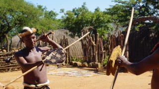ズールー族のスティックファイティング