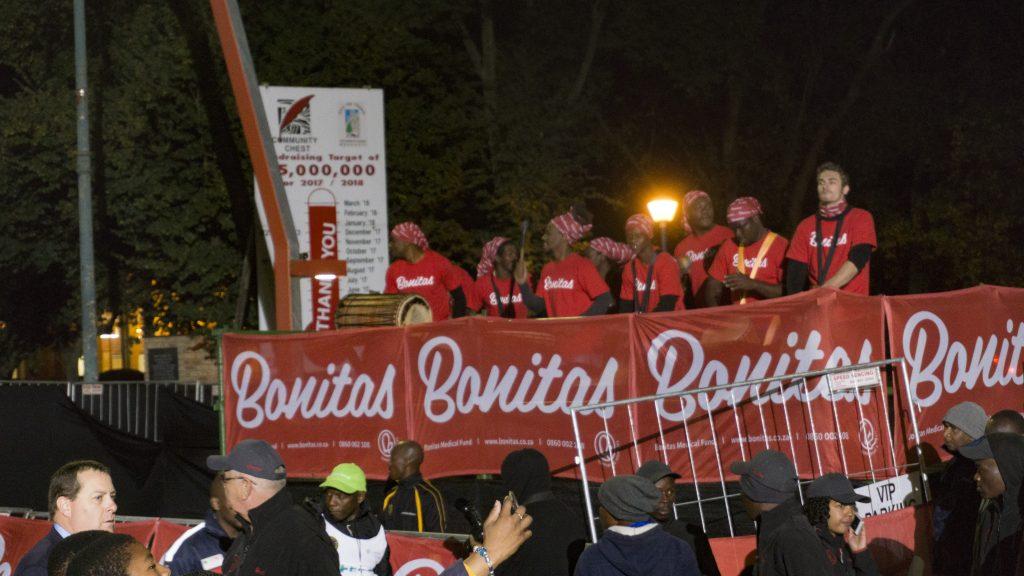 コムラッズ・マラソンの応援団