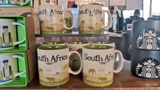 南アのスタバ限定「南アフリカ共和国」のマグカップ