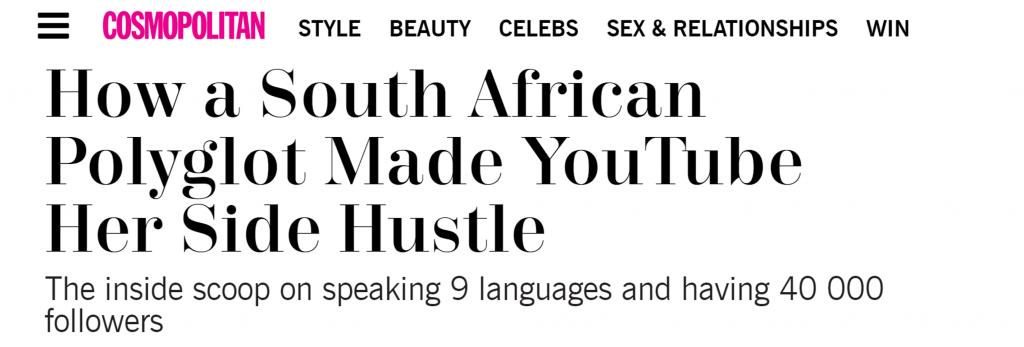 南アフリカの美容・ファッションマガジン