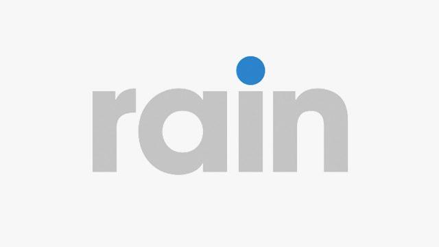 南アフリカのモバイルデータ業者『rain』のロゴ