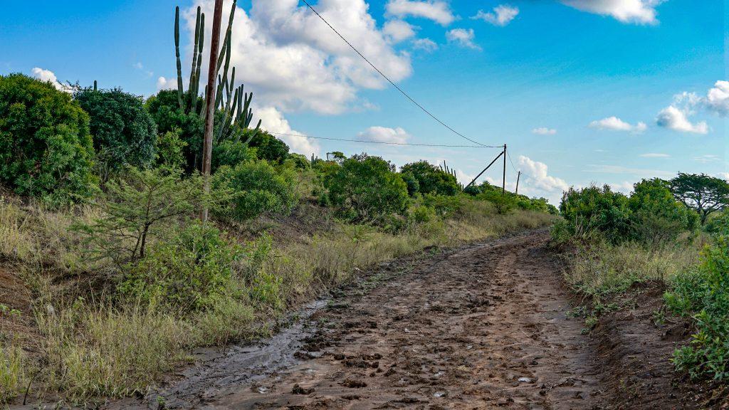 写真で見る南アフリカの田舎の街並み