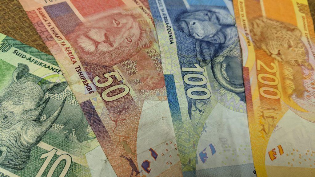 南アフリカランドの通貨、紙幣とデザイン