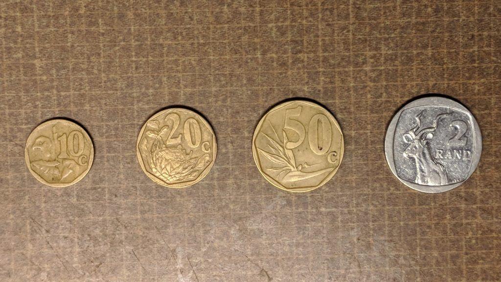 南アフリカランドの通貨『硬貨』とそのデザイン