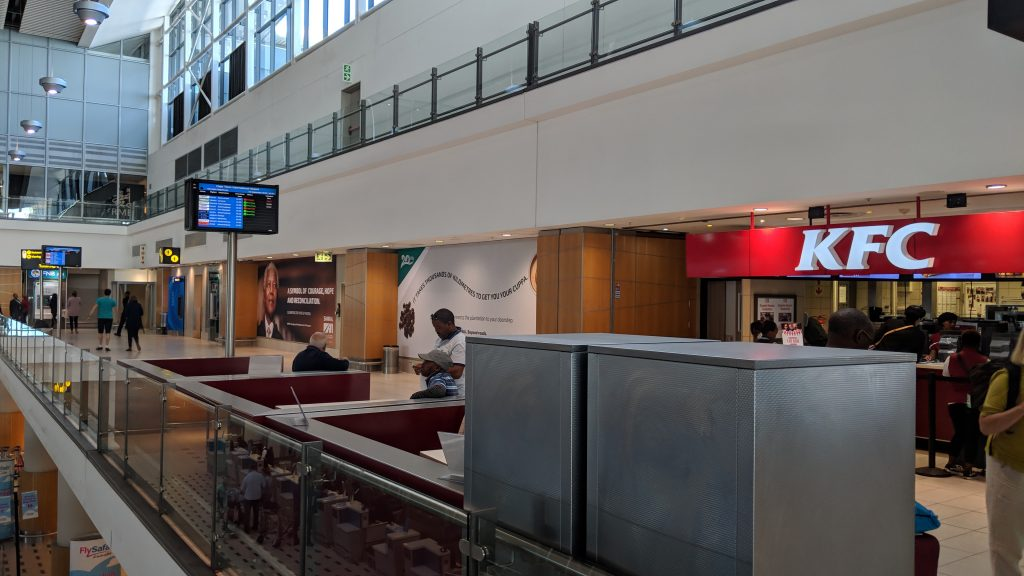 ケープタウン国際空港のレストラン・カフェ
