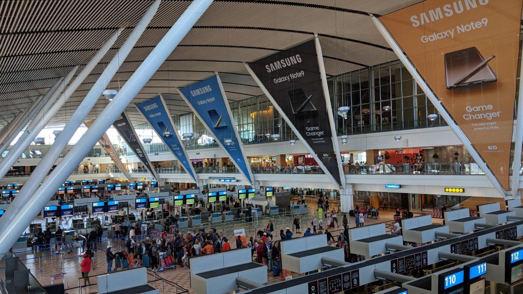 ケープタウン国際空港の内観