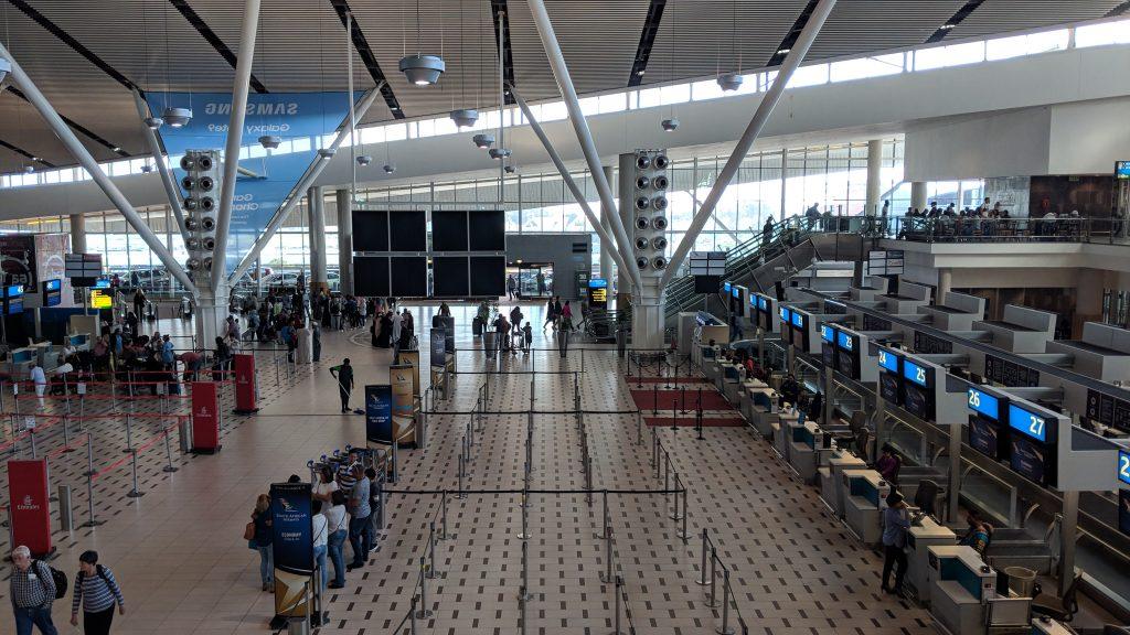 ケープタウン国際空港の無料Wi-Fiスポット
