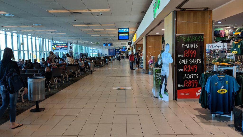 ケープタウン国際空港内の免税店・お土産