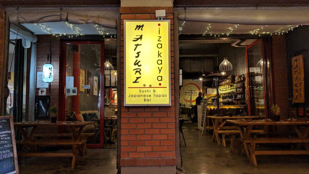餃子と焼き鳥がおすすめ「Izakaya Matsuri」