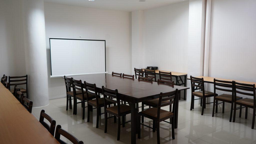 セブ留学TARGET校舎内の自習室