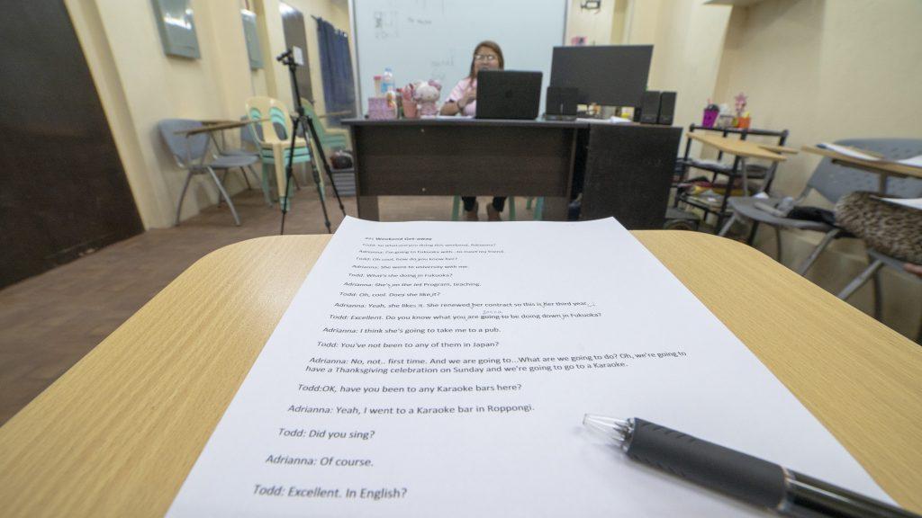 語学学校「TARGET」の授業時間数とカリキュラム