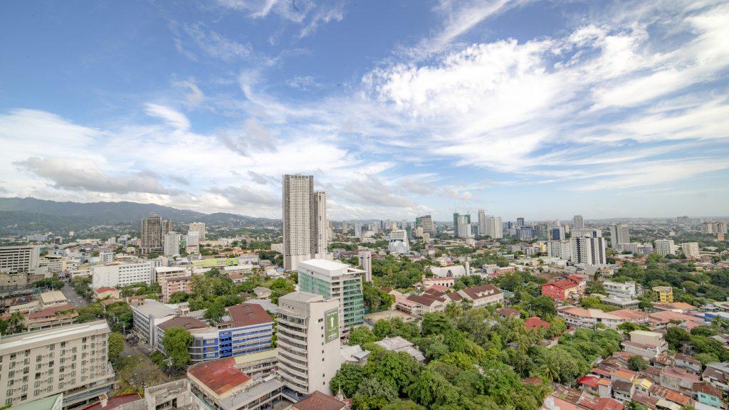 フィリピン・セブ島の街の景色