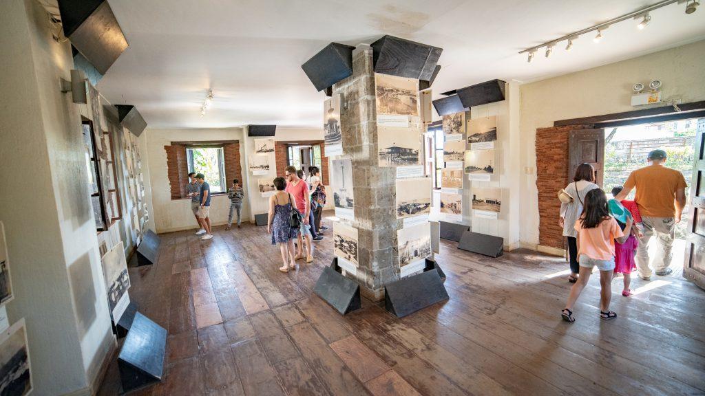セブ島の観光名所サンペドロ要塞の内観