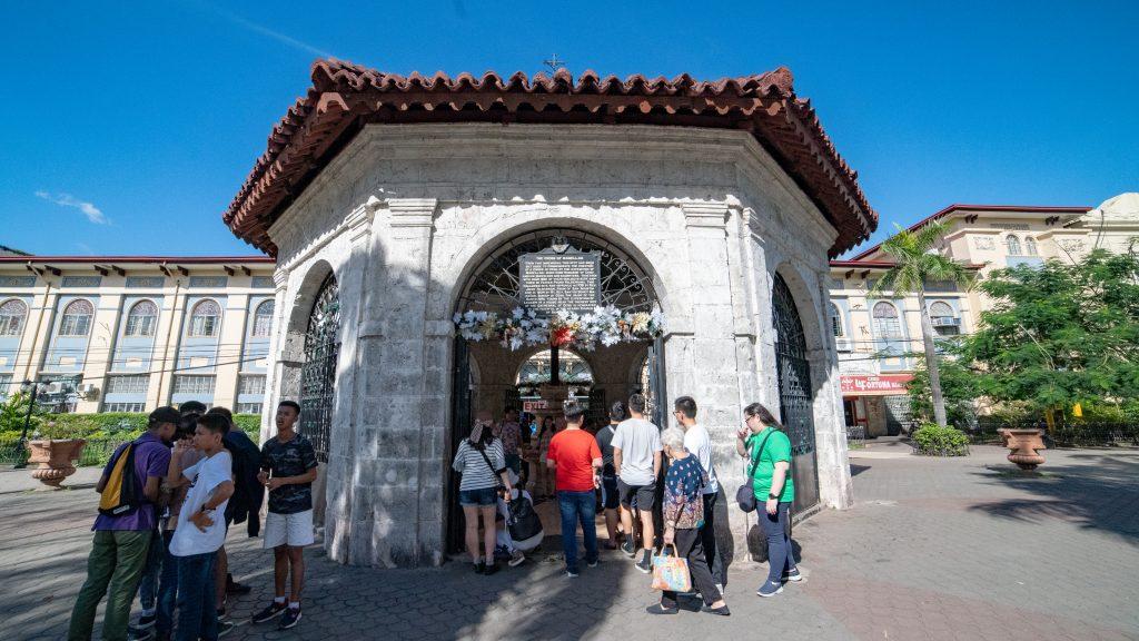 セブ島の観光名所マゼランクロスの外観