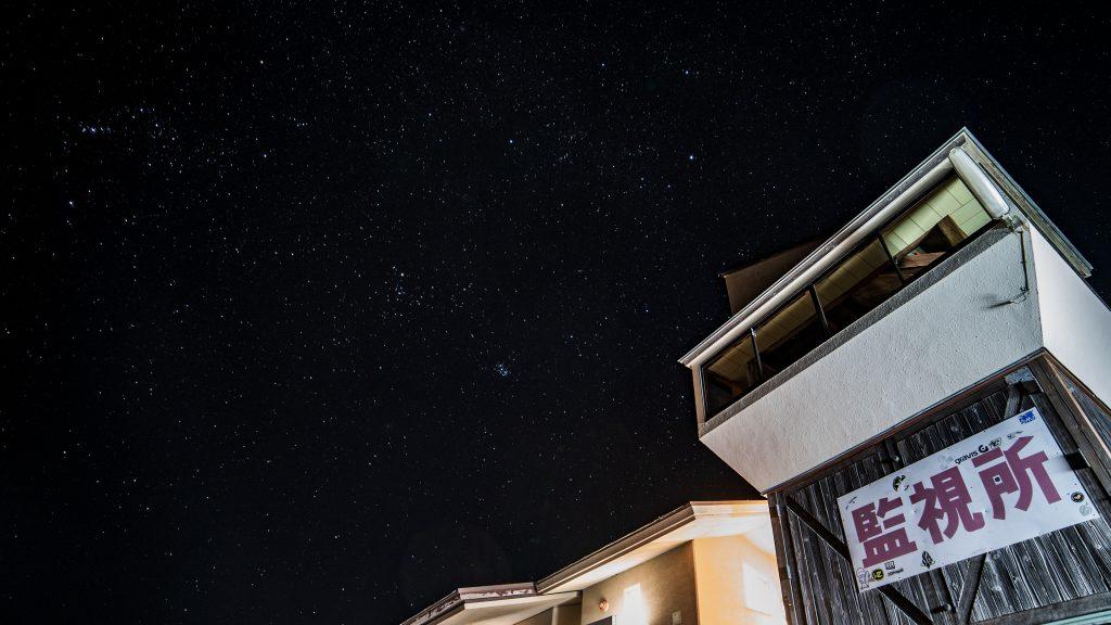 2018年ふたこ座流星群のときの星空写真