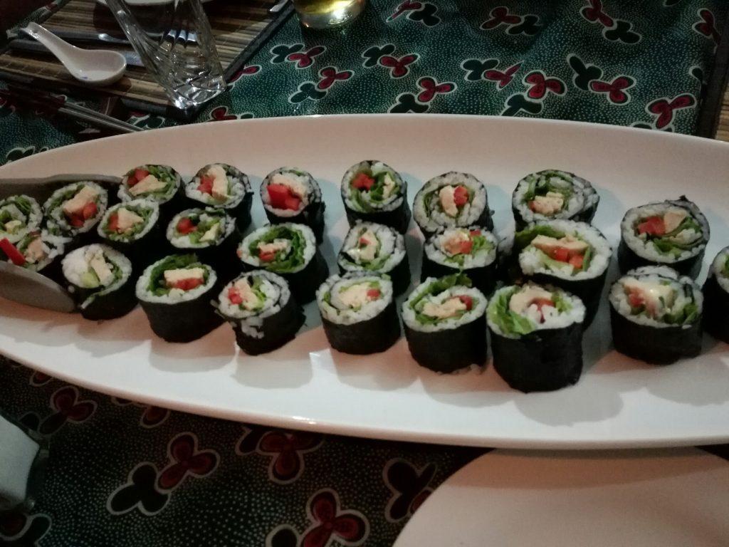 カピシャ温泉では日本食もたのしめる!