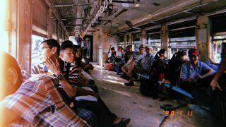 【ミャンマー】写ルンです映えがやばいヤンゴン環状線(電車)【写真】
