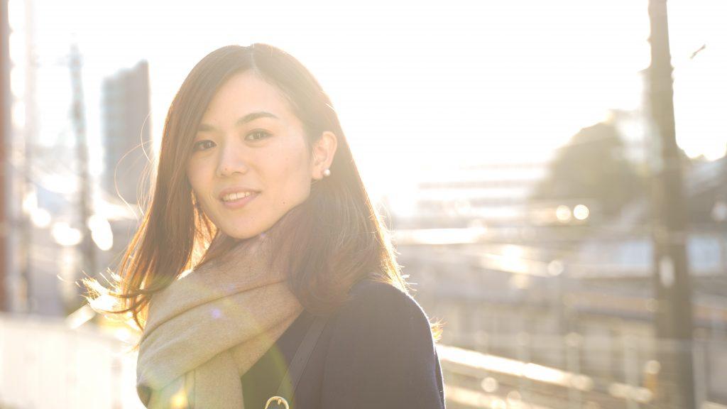 女性ポートレート撮影モデルサンプル@中目黒