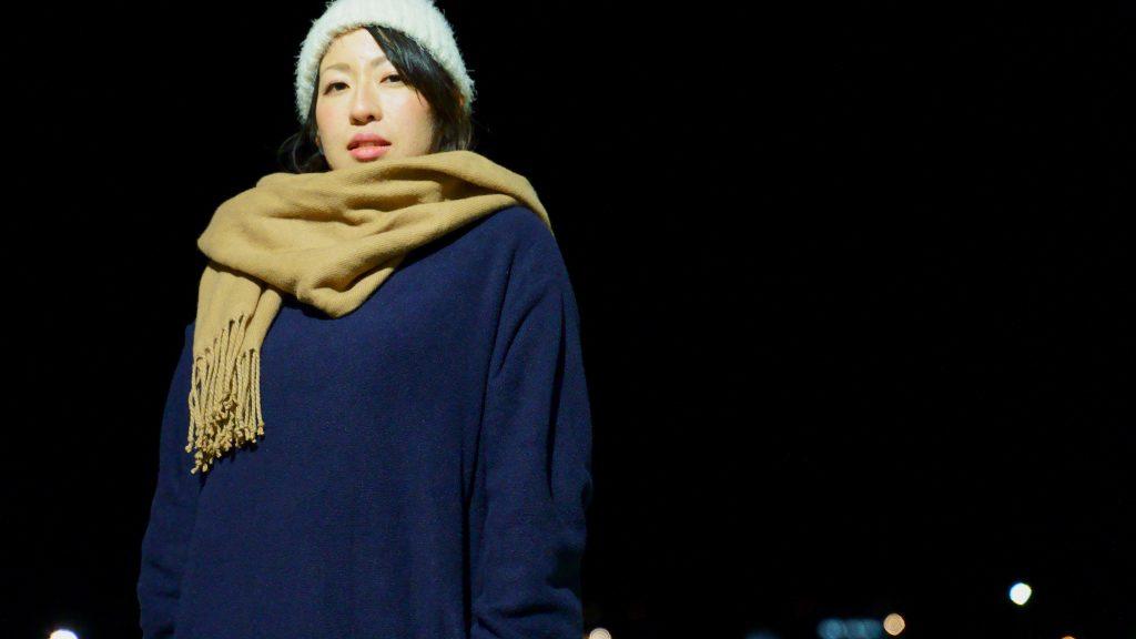 女性ポートレート撮影モデルサンプル@伊豆