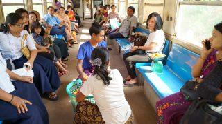 【2019】ヤンゴン環状線(鉄道)でのんびり旅!その様子を写真でお届け