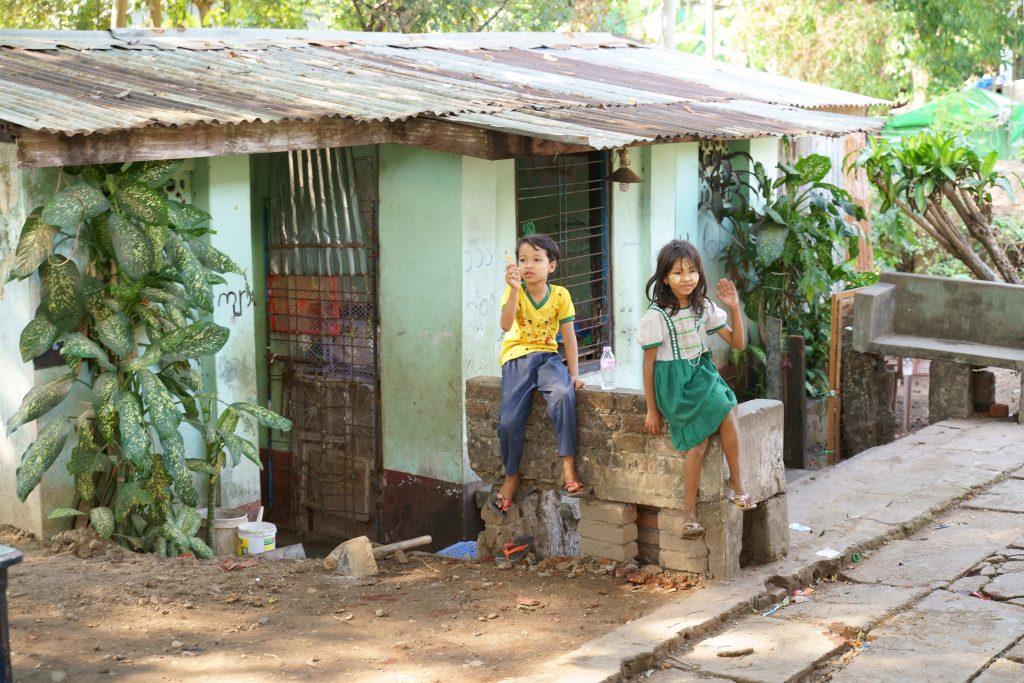 ヤンゴン環状線から見るミャンマー人の日常