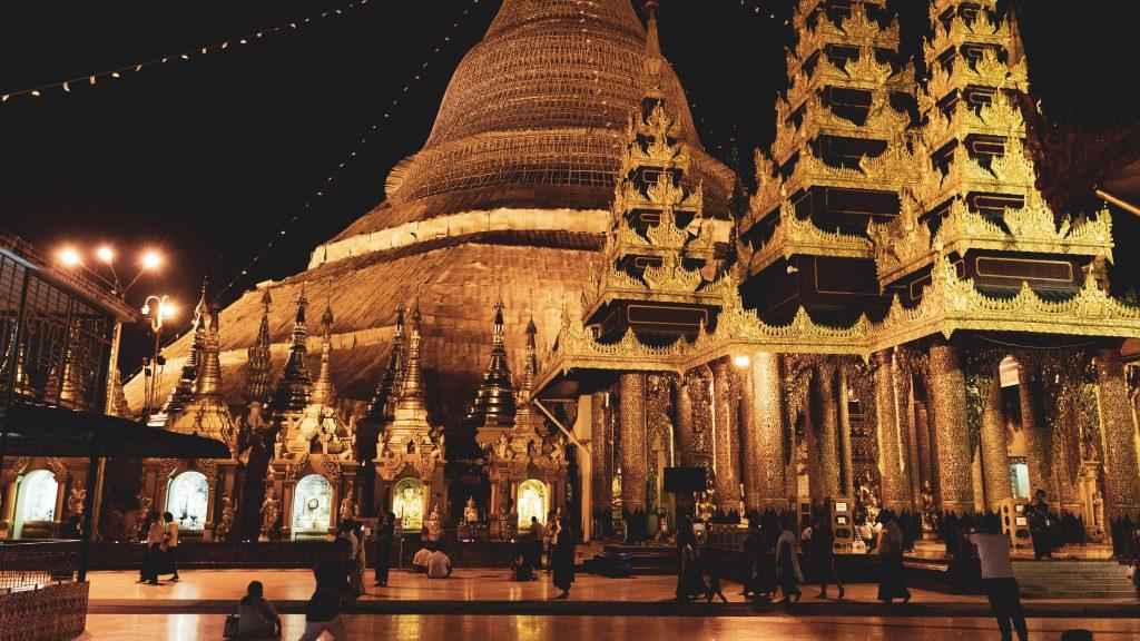 【観光スポット】スレー・パゴダ(Sule Pagoda)の写真