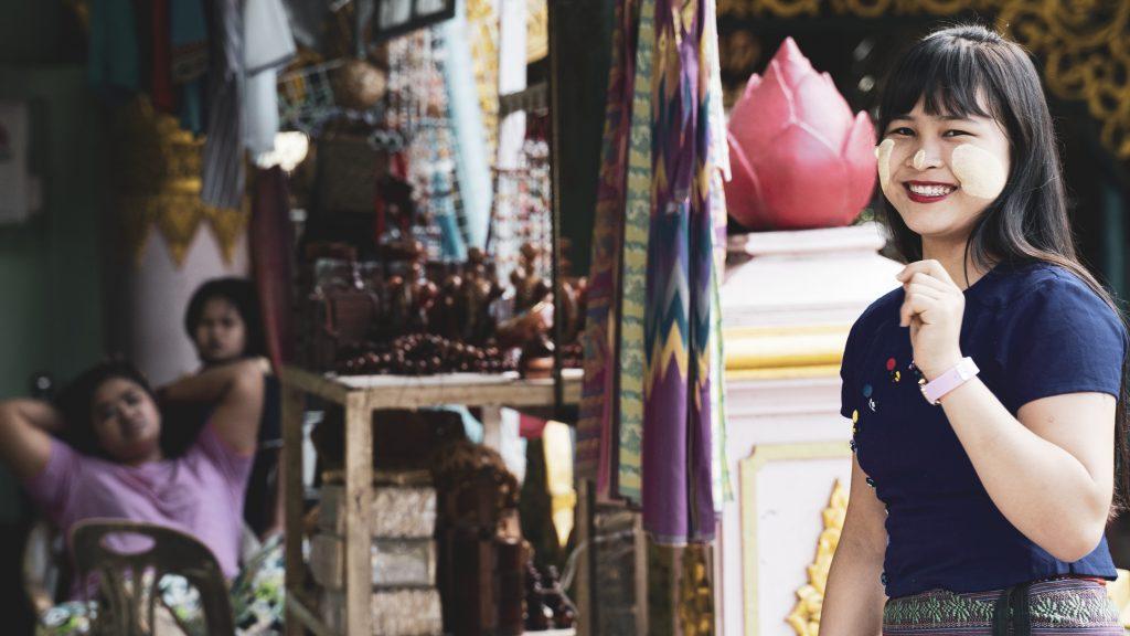 【ヤンゴン】ミャンマー人は美人が多い