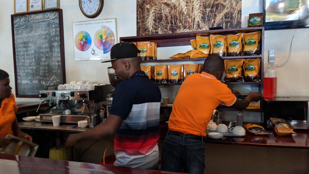 ザンビア・リビングストンのカフェ