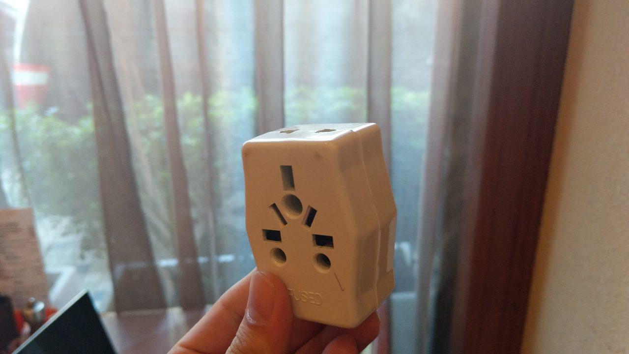 【ミャンマー】コンセント・変換プラグは「BFタイプ」!変圧器は必要?