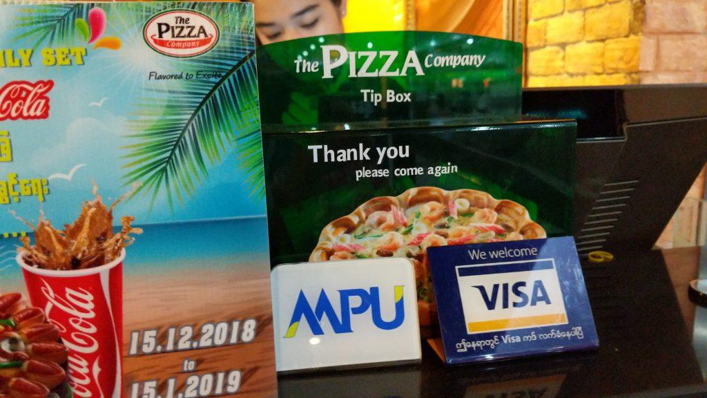 ミャンマー・ヤンゴンでクレジットカードは使える?
