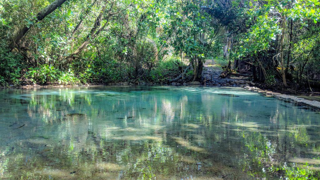 アフリカ・ザンビアのカピシャ温泉