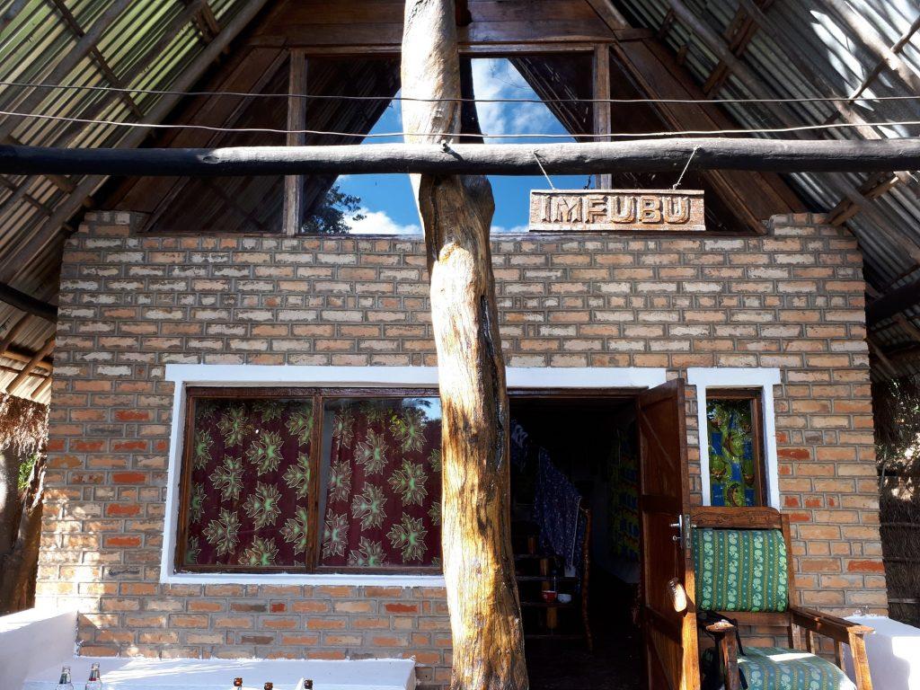 アフリカの温泉ことカピシャ温泉は宿泊施設(ロッジ)