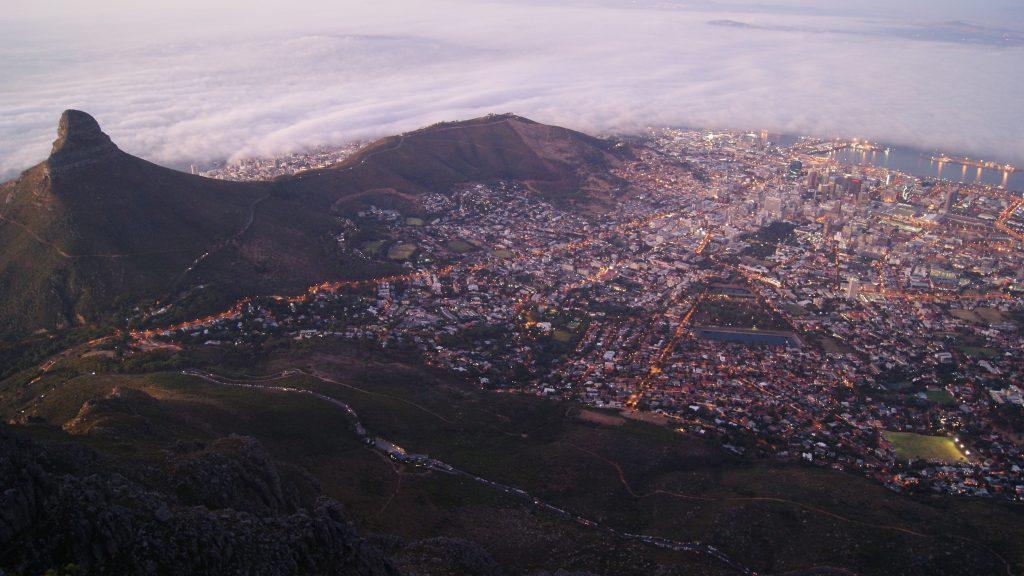 南アフリカでアプリを利用できるエリア