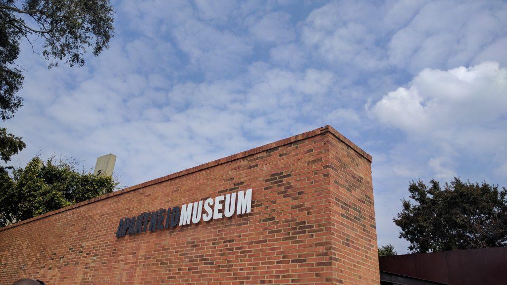 アパルトヘイトミュージアムに訪れてみた