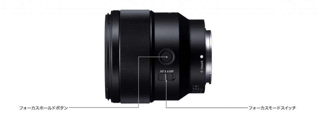 SONY純正フルサイズ対応単焦点レンズ「SEL85F18」とは