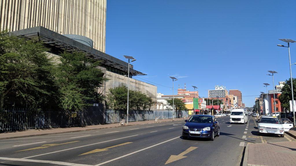 南アフリカの運転交通ルールはほとんど日本と同じ