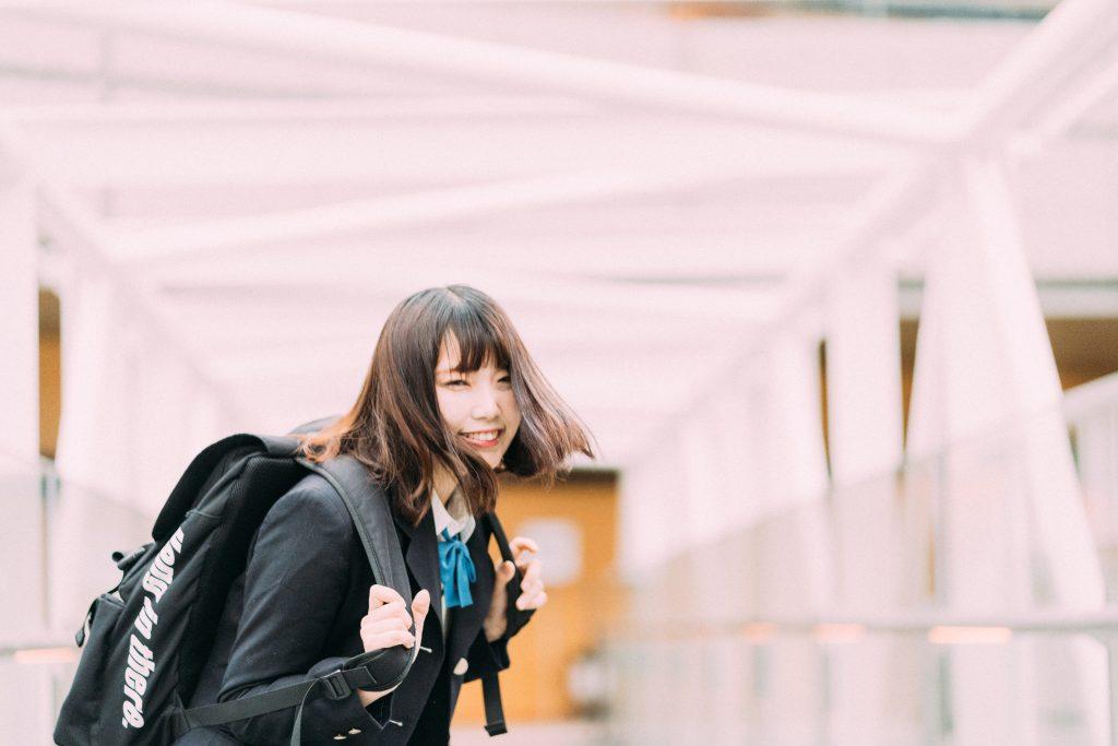 【都内】学生制服でポートレート撮影してみた【コスプレ】