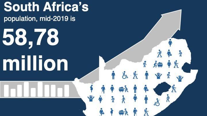 【南アフリカ】人口5,800万人に到達|政府が人種内訳、HIV患者数を公表