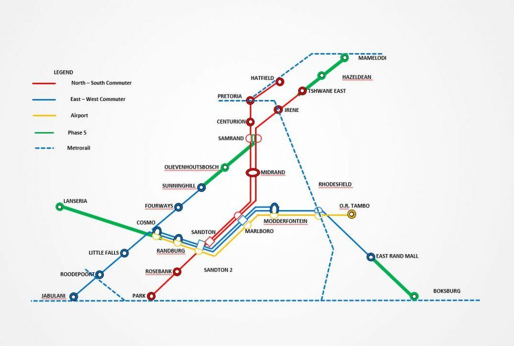 路線拡大は5段階計画に沿って徐々に拡張